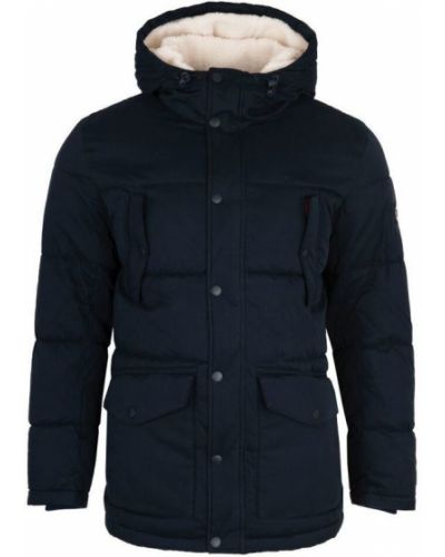 Bawełna bawełna kurtka jeansowa z kapturem Pepe Jeans