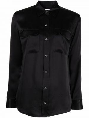 Рубашка с длинным рукавом - черная Equipment