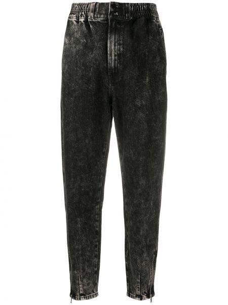 Брендовые зауженные джинсы-скинни с поясом J Brand