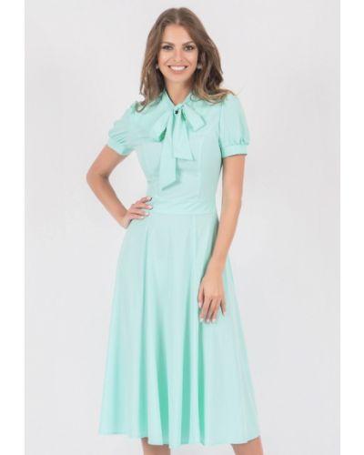 Повседневное платье осеннее Olivegrey