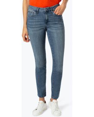 Niebieskie jeansy z cekinami Mavi