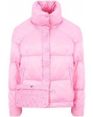 Куртка демисезонная розовая Guess