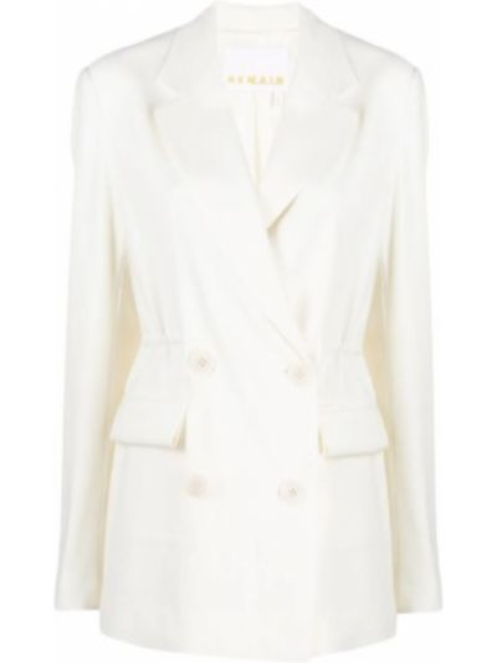 Biała kurtka Remain