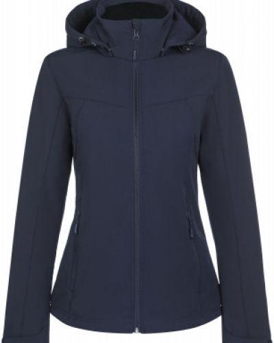 Синяя куртка мембранная на молнии Icepeak