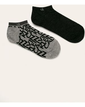 Szare skarpety wełniane Calvin Klein