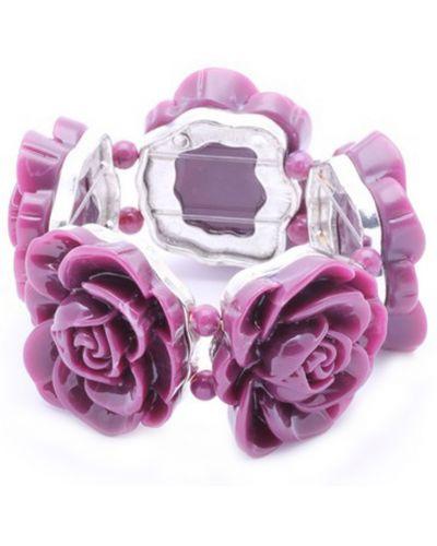Фиолетовый браслет Honey