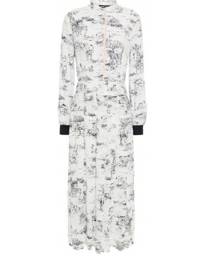 Платье миди - белое Markus Lupfer