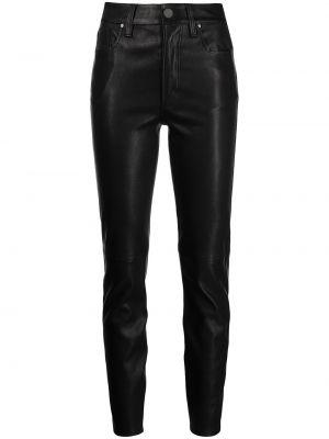 Кожаные брюки - черные Anine Bing