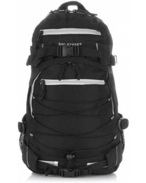 Czarny sport plecak oversize Bag Street