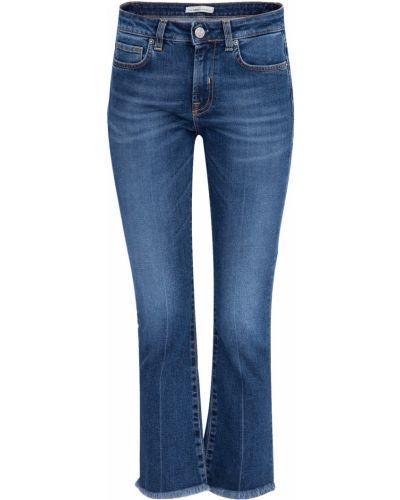 Укороченные джинсы расклешенные винтажные Two Women In The World