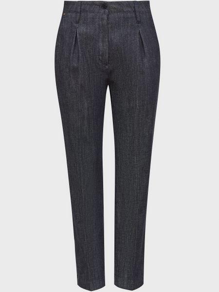 Хлопковые брюки - синие Windsor
