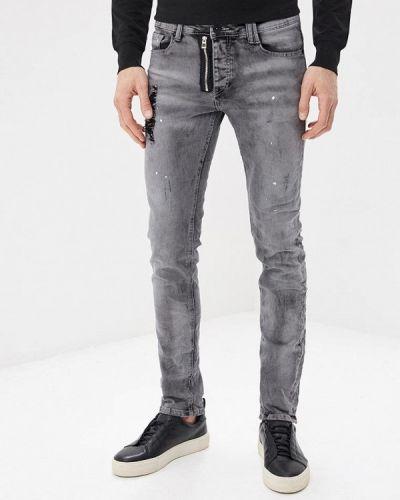 Серые джинсы-скинни Mezaguz