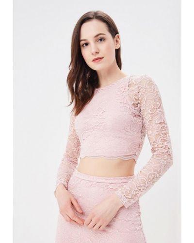 Розовая блузка кружевная Befree