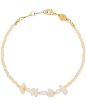 Желтый золотой браслет Anni Lu