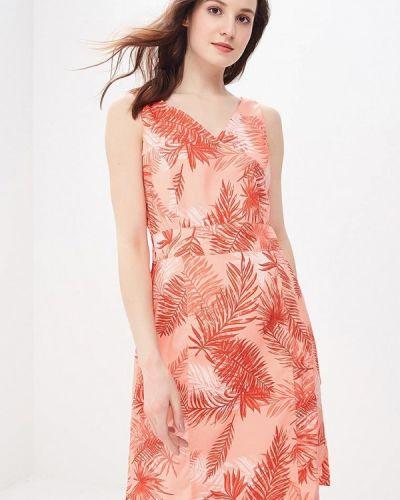 Оранжевое платье Jack Wolfskin