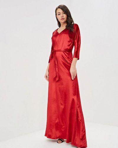 Вечернее платье красный Tutto Bene
