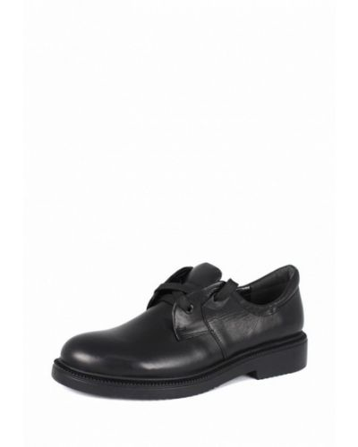 Ботинки на каблуке осенние кожаные Blizzarini