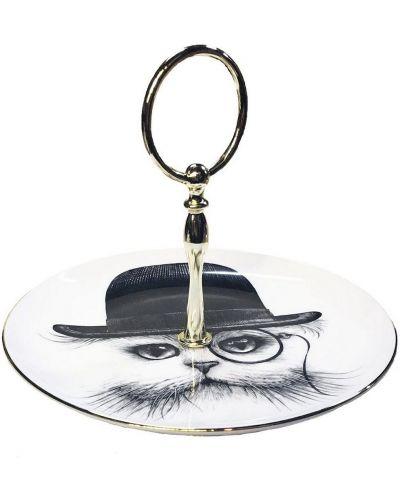 Złota czarna czapka z printem Rory Dobner