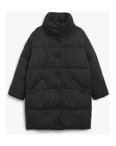 Пальто оверсайз - черный Monki