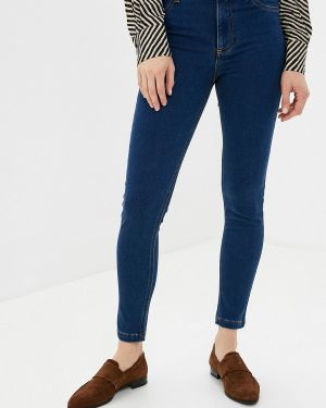 Зауженные джинсы - синие Calzedonia