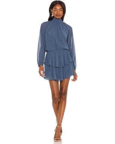 Платье винтажное - синее Yumi Kim