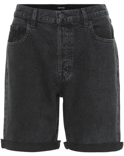 Джинсовые шорты с завышенной талией классические J Brand