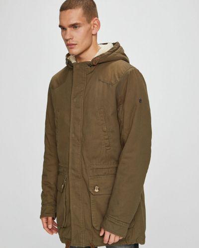 Утепленная куртка с капюшоном прямая Mustang