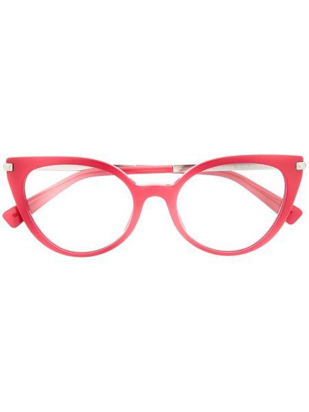 Очки кошачий глаз хаки Valentino Eyewear