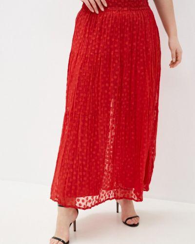 Красная юбка Ulla Popken