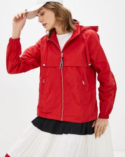 Облегченная красная куртка Tommy Hilfiger