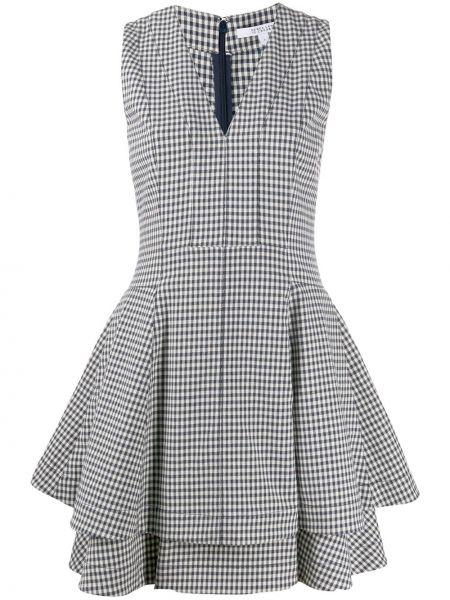 Повседневное платье с V-образным вырезом на молнии Derek Lam 10 Crosby