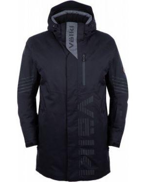 Куртка с капюшоном утепленная черная Volkl