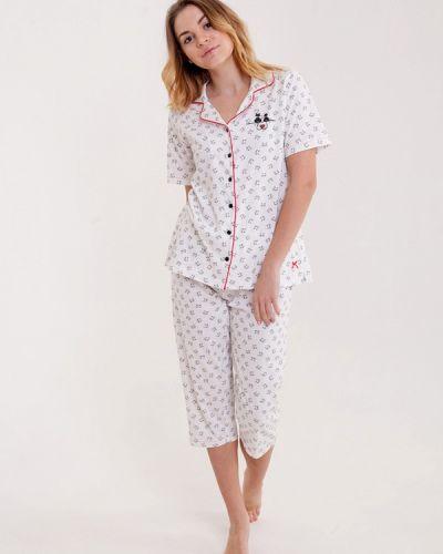 Пижама белая пижамный Pastunette