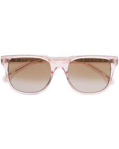 Солнцезащитные очки розовый хаки Paul Smith Eyewear