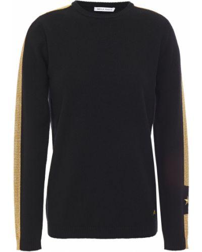 Кашемировый черный вязаный свитер Bella Freud
