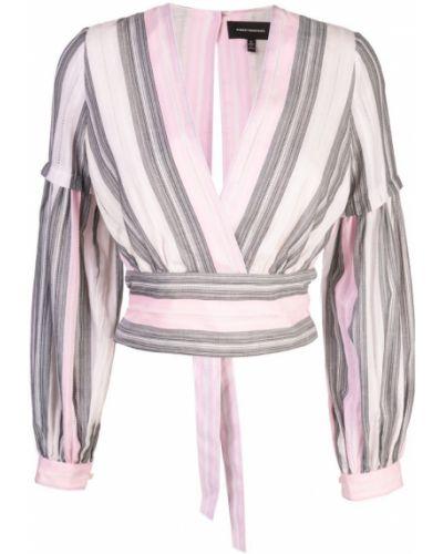 Розовая блузка с длинным рукавом Robert Rodriguez Studio