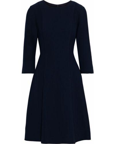 Расклешенное синее платье с подкладкой Mikael Aghal
