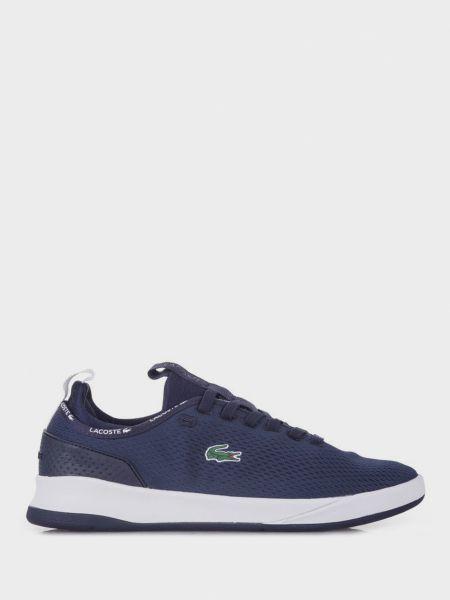 Текстильные брендовые кроссовки Lacoste