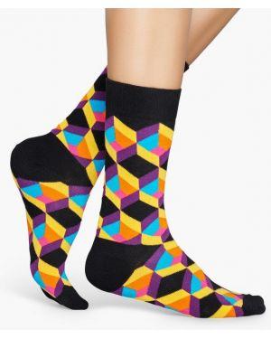 Носки черные Happy Socks