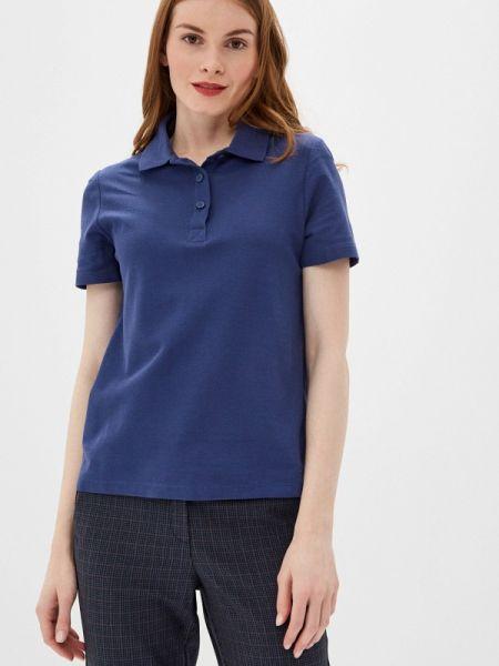 Синее футбольное поло Marks & Spencer