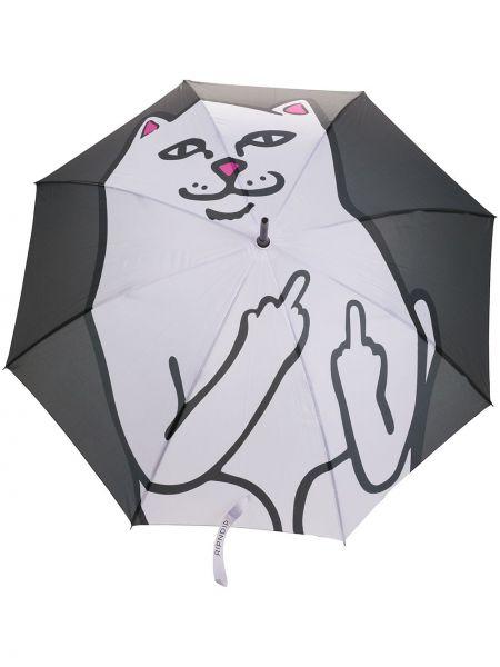 Зонт из полиэстера - черный Ripndip
