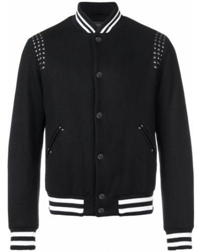 Прямая черная куртка Overcome