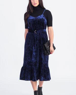 Платье с поясом на бретелях на тонких бретелях Lacywear