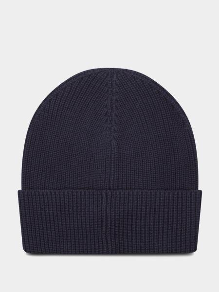 Теплая шапка - синяя Tommy Hilfiger