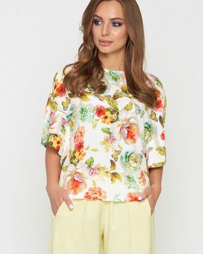 Блузка с длинным рукавом белая Sellin