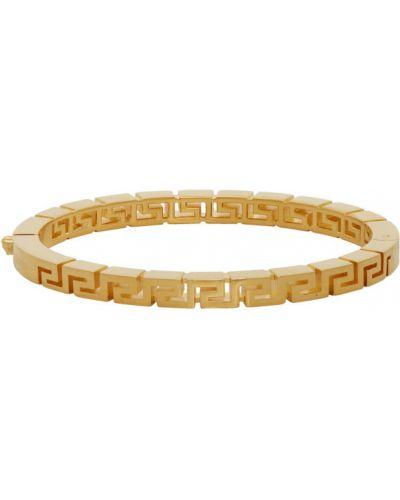 Bransoletka złoto z gniazdem Versace