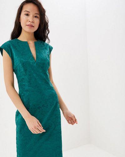 Платье футляр зеленый Vittoria Vicci