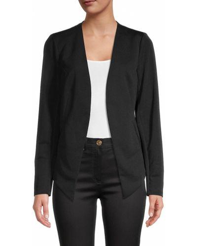 Открытый черный удлиненный пиджак с карманами Bcbgeneration