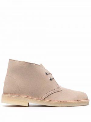 Замшевые ботинки Clarks Originals