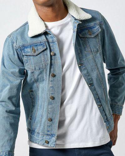 Джинсовая куртка осенняя осенний Burton Menswear London